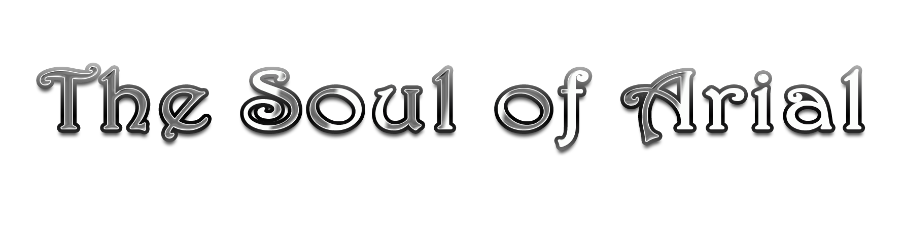 Header for Soul of Arial series